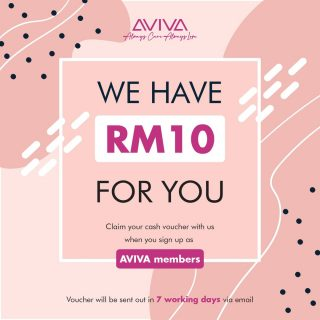 💰💰CLAIM YOUR RM10 WITH US  With experiences for more than 20 years, 17 off outlets across Peninsular Malaysia, and more than 40 designs of female travel and activewear for you to choose from on www.avivaactive.com. 🌐We are now online and we're giving away cash vouchers worth RM10 as long as you register as a member on our website or subscribe to our newsletter!  Still not convincing enough? 🤨  Our active and travel wear comes with different features to cater to different lifestyles and scenarios such as 🕊️Lightweight and Soft Fabric 🌬️Breathable Materials 🤸🏻♀️Stretchable fabric 👕Anti-pilling 🌤️Fast Drying ❄️Thermolysis Coolness ... and many more!  See them yourself at www.avivaactive.com!  Aviva believes in a comfortable outfit can sublime your travel journey, we have held this belief for more than 20 years, this is how AVIVA released.  #AvivaActive #AlwaysCareAlwaysLove #Freshmenvoucher #ActiveWear #TravelWear #RM10Giveaway #Signup #NewMember #JustLikeThat